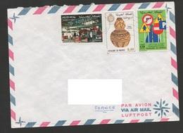 MAROC 1980  N° YT 844  849 850  / Semaine De L'aveugle /  Journée Du Timbre / Lutte Accidents Circulation - Maroc (1956-...)