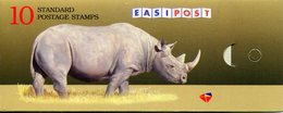 South Africa 1997 Endangered Fauna Booklet (SG SB39) - Booklets