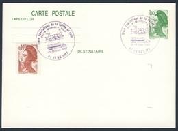 France Rep. Française 1987 Card / Karte / Carte - Train Touristique Vallee Du Loir  / Eisenbahn - Treinen