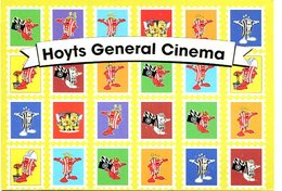 HOYTS GENERAL CINEMA 2000'S ARGENTINA TARJETA PUBLICIDAD MODERNA -LILHU - Reclame