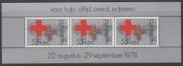 NIEDERLANDE  Block 18, Postfrisch **, Rotes Kreuz, 1978 - Blocs