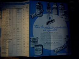 Publicité Tract Publicité Produits Flambo ( Mecao Agnoline Furnet)ets Bisseul Et Huet A  Boulogne Billancourt Annee 1960 - Francia