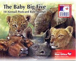 South Africa 2012 Wildlife - The Big Five Booklet (SG SB77) - Booklets