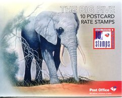 South Africa 2010 Wildlife - The Big Five Booklet (SG SB70) - Booklets