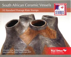 South Africa 2014 Ceramic Vessels Booklet (SG Unlisted) - Booklets