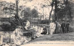 Camp De Ger (65) Près Tarbes - La Poudrière Et Les Bords De La Géline - Pêche Militaire Militaria - France