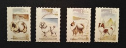 Antillen - Honden / Dogs Nrs. 1030/1033  (1993) - Antilles