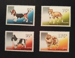 Antillen - Honden / Dogs Nrs. 1048/1051  (1994) - Antilles