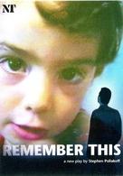 REMEMBER THIS STEPHEN POLIAKOFF FILM LONDON 2000'S TARJETA PUBLICIDAD MODERNA -LILHU - Reclame
