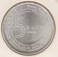 @Y@  Nederland   5 Euro 2004  Europa      Unc Zilver  (4752) - Nederland