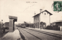Gasny - La Gare - Train - Autres Communes