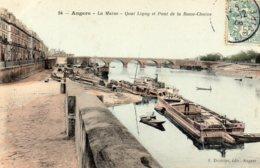 ANGERS - Quai Ligny Et Pont De La Basse Chaine - Angers