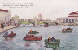Postcard Boating Lake And Palace Of Arts North East Coast Exhibition Newcastle Upon Tyne 1929 My Ref  B12597 - Exhibitions