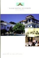VIEJO HOTEL OSTENDE DESDE 1913 UN CLASICO DEL VERANO 1999 ARGENTINA TARJETA PUBLICIDAD MODERNA -LILHU - Reclame