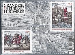 GRANDES HEURES DE L HISTOIRE DE FRANCE - Blocs & Feuillets