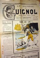 JOURNAL DE  GUIGNOL N° 29 Bis Du 4 Août 1901 REPUBLICAIN SOCIALISTE SATYRIQUE ET LITTERAIRE - Autres
