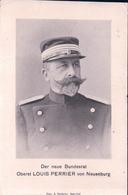 Suisse, Der Neue Bundesrat, Oberst Louis Perrier Von Neuenburg (21.3.12) Pli D'angle - People