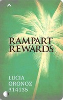 Rampart Casino - Las Vegas, NV - Slot Card - Casino Cards