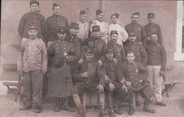 CARTE PHOTO Soldats Du 20e Et 21e Neufchâteau - Neufchateau