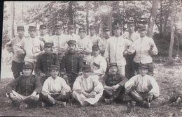 CARTE PHOTO Soldats Du 20e Neufchâteau 15/10/1913 - Neufchateau