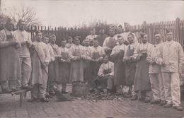 CARTE PHOTO Soldats Du 20e Neufchâteau 1912 Peluches - Neufchateau