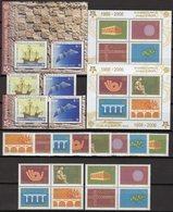 CEPT 2005 JUGOSLAVIJA 3257/4,VB,Blocks 59/60A,Croatia 734/5,ZD+Bl.27 ** 123€ Symbol Kette Sheets Ss Blocs Bf EUROPA - Blocs-feuillets