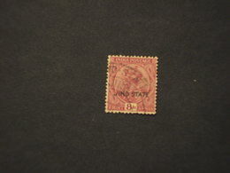 JHND - 1927/37 RE 8 A. -  TIMBRATO/USED - Jhind