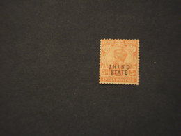 JHND - 1912/23 RE 3 A.(pieghe) -  NUOVO(++) - Jhind