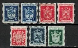 San Marino 1945, 7x Coat Of Arms *, MH - San Marino