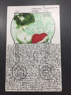 Art Nouveau - Raphael Kirchner - Um Die Liebe - Rif. Dell'Aquila B4-2 - Kirchner, Raphael