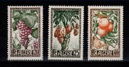 Algérie - YV 279 à 281 N* Complete Cote 13,50 Euros - Algeria (1924-1962)