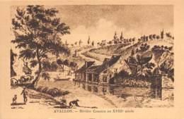 89 - AVALLON - Rivière Cousain Au XVIIIe Siècle - Avallon