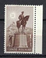 Turkey/Turquie/Türkei 1948, Statue Atatürk **, MNH - Ongebruikt
