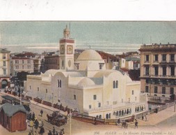 ALGER. LA MOSQUEE DJEMAA DJEDID. LL CIRCA 1910 VINTAGE VIEW. ALGERIA-BLEUP - Alger