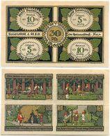 Ballenstedt, 1 Schein Notgeld 1921, Zwerge, Bergbau, 30 Pfennig - Lokale Ausgaben