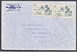 OCEANIE  TO  U.S.  COVER - Oceania (1892-1958)