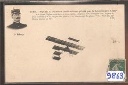 9863  BIPLAN H FARMAN PILOTE PAR LE LIEUTENANT REMY - ....-1914: Precursori
