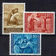 Liechtenstein 1960 // Mi. 395/397 ** (031..366) - Liechtenstein