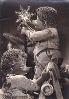 MECKI. FRAHE WEINACHTEN! AUGUST GUNKEL, ECHT FOTO. CIRCULEE 1959 PORTUGAL A ARGENTINE -BLEUP - Mecki