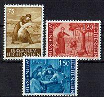 Liechtenstein 1960 // Mi. 395/397 ** (M.031..368) - Landwirtschaft