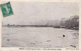 75. PARIS.  INONDATIONS DE 1910. PONT DES SAINTS PERES - Paris Flood, 1910