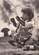 MECKI. STROHWITWER. AUGUST GUNKEL, ECHT FOTO. CIRCULEE 1958 GERMANY A ARGENTINE. STAMP A PAIR -BLEUP - Mecki