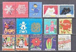 DENMARK  JULEN  1966 +  (o)  CHRISTMAS  SEALS - Denmark