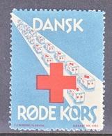 DENMARK  RED  CROSS   SEAL - Red Cross