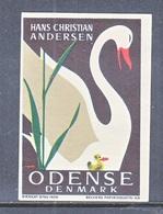 DENMARK  HANS  CHRISTIAN  ANDERSEN  LABEL - Denmark