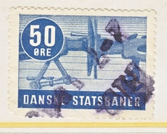 DENMARK  STATE  RAILROAD  (o) - Revenue Stamps