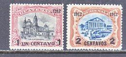 GUATEMALA  147-48   *  1912  Issue - Guatemala