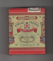 EGYPTE - ETUI VIDE DE 20 CIGARETTES - KYRIAZI FRERES - CAIRO - Empty Cigarettes Boxes