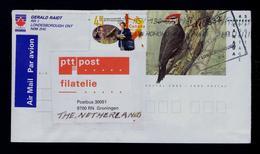 Picapau Pileated Woodpecker CANADA Grand Pic Animals Oiseaux Faune Birds ARGENTINA Mail Courrier Postman Aerogramme 3696 - Climbing Birds