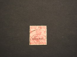 NABHA - 1928/37 RE 3 A.. - TIMBRATO/USED - Nabha